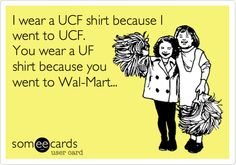 Just made this because it's somehow all you see around Orlando... GO UCF!