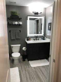 Bathroom Decor Discover 35 Beautiful Gray Bathroom Ideas with Stylish Color Combinations Unique gray and brown bathroom color ideas Man Bathroom, Bathroom Interior, Bathroom Remodeling, Grey Bathroom Decor, Bathroom Theme Ideas, Bathroom Remodel Small, Bathroom Color Schemes, Teen Boy Bathroom, Gray Bathroom Walls