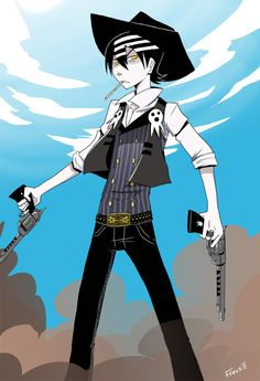 Death The Kid by ~artsy-freux on deviantART