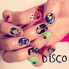 Disco Nails http://sulia.com/my_thoughts/02dcf1f0-2462-4654-b30d-32b3ac12f4e3/?pinner=124969623&