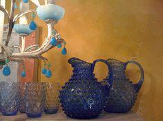 Bubble vintage glassware