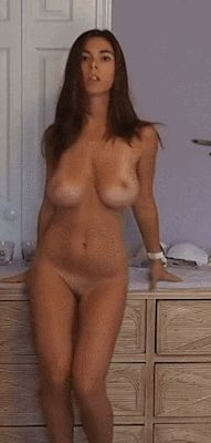 Short hair cute nude
