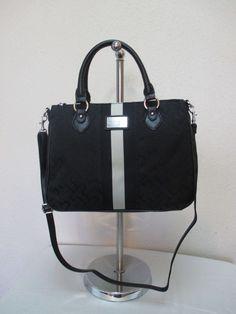 Bag Tommy Hilfiger Handbag Con Shop 6920422 990 Black Beige Gold Retail $79.00-2 #TommyHilfiger #ConShop