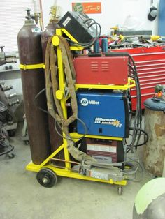 Individual welding carts or one? - The Garage Journal Board