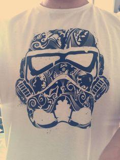 Stormtrooper tribal #starwars #shirt