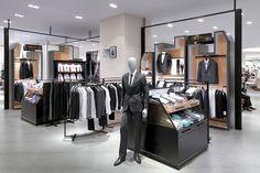 Mensfloor redesign at Paragon Department Store by HMKM, Bangkok – Thailand | Intelliretail.com #Intelliretail