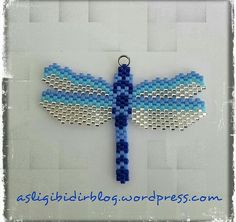 peyote bead dragonfly