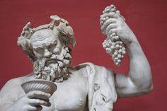 Der griechische Gott Dionysos ist Symbol alles Rauschhaften.