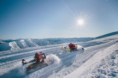 New Groomers at Cardrona. Pic - Simon Darby.