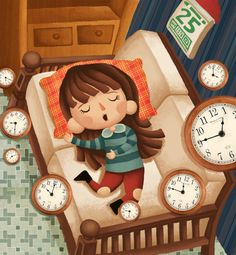 """Children Picture Book """"Guardian Star"""" by Fengyi Lai, via Behance"""