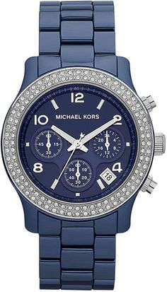 my next watch! - Michael Kors Glitz Ceramic Chronograph - Lyst