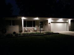Outdoor Soffit Lighting What not to have it look like Lake cabins