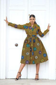 Zoe African Print Midi Dress Big Size Fashion, Kitenge, Business Dresses, Short Dresses, Midi Dresses, African, Plus Size, Stylish, High Heels