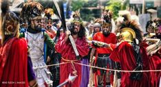 My Moriones Festival 2016 Experience - Out of Town Blog Moriones Festival, Holy Wednesday, Roman Centurion, Tourism Department, Roman Soldiers, Holy Week, Religious Icons, Adam And Eve, Beautiful Islands