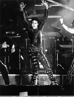 That moment when you realize that you know Michael's backup dancer. Bad Tour, 1987-1989.