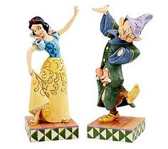 Jim Shore Disney Traditions Snow White Dancing Set