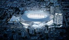 Tottenham Hotspur host Manchester United on Sunday in what will be their last match at White Hart Lane. Sportsmail looks at twenty of the best features their all-new stadium has to offer. London Football, Uk Football, Football Stadiums, British Football, American Football, Stadium Architecture, A As Architecture, Innovative Architecture, Commercial Architecture