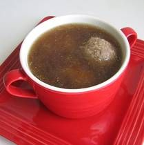 Czech Liver Dumpling Soup:  Want to try this one for Ryan...I'm not a big liver gal...