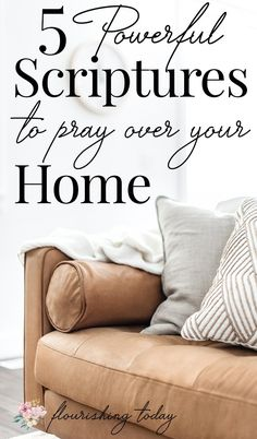 Prayers for family:Do you pray God's Word over your home? There is power in praying Bible verses over the things that are important to us. Here are 5 scriptures to pray over your home and family. Family Bible Verses, Prayer For Family, Powerful Scriptures, Prayer Scriptures, Bible Prayers, Prayer Quotes, Scripture Verses, Christian Faith, Christian Living