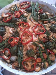 Paella helped by me