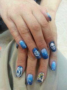 Ingress Resistance Manicure Nail Art