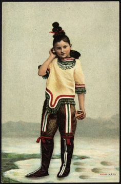 All sizes   Jente i inuitliknende drakt   Flickr - Photo Sharing!