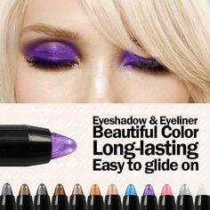 Colorful Waterproof Gel Eyeliner Pencils 12pcs Set