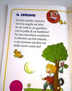 Learning Italian Like Children Italian Lessons, Italian Language, Learning Italian, Kindergarten Math, Kids Education, Activities For Kids, I School, School Ideas, Teaching