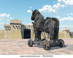 Accadde Oggi Greci guidati da Ulisse entrano in Troia con cavallo legno 23 aprile 1184 aC
