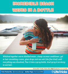 Incredible beach waves in a bottle   LifeTricks