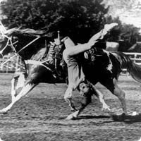 cowgirl trick riding vintage