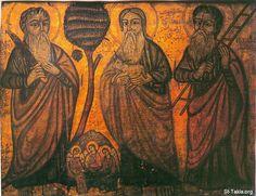 ebraham ,isaac and jacob. Southeastern University, Cain And Abel, Old Testament, Orthodox Icons, Religious Art, Ikon, Egyptian, Christianity, Saints