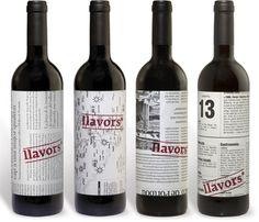 un recorte de periodico relacionado con algun momento de la vida del vino, para vincular las experiencias personales con las del propio vino