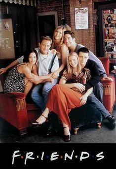 Friends Movie Poster I LOVE THIS SHOW  favorite show ever i wish they kept making it