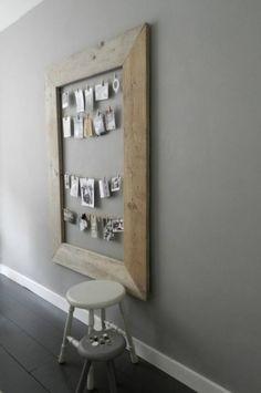 Fotolijst voor bv spiegel op badkamer