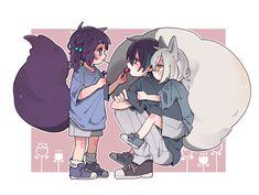 Anime Neko, Kawaii Anime Girl, Manga Anime, Anime Art, Cute Anime Character, Character Drawing, Trinidad, Akira Kurusu, Kawaii Art