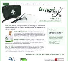 Beyond First Aid: http://www.beyondfirstaid.co.uk/