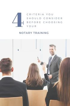 Five Things You Should Consider When Choosing Your Notary Training Notary Service, Mobile Notary, Notary Public, Course Offering, Hustle Hard, Online Jobs, Business Ideas, Knowledge, Training