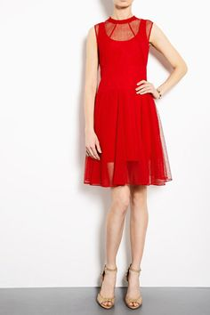 Lady In Red: One-Up The Summer Heat In These Stunning Crimson Frocks #Refinery29