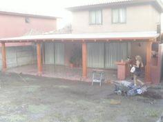 PERGOLAS Y QUINCHOS Backyard Kitchen, Outdoor Kitchen Design, Patio Design, Backyard Patio, Blessed Mother, Bbq, Cases, Outdoor Decor, Ideas