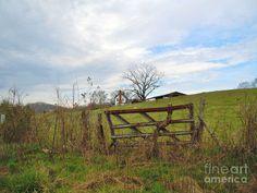 Old Farms for Sale | Old Farm Gate Photograph - Old Farm Gate Fine Art Print