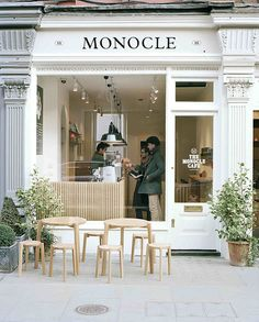 Monocle Cafe, London