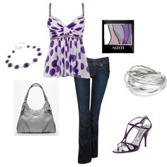 LOVE Purple!, created by lislyn.polyvore.com