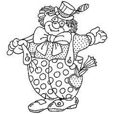 Le dessin du Clown du cirque est très coloré. Colorie le chapeau, le noeud papillon et les poids de son pantalon en bleu outremer. Ses cheveux, sa chemise, l'intérieur du coeur et ses chaussures sont orange. Le reflet du chapeau, ses bretelles et son pantalon sont bleu clair. Place la couleur rouge sur son nez, sa bouche, la tulipe, le tour de son coeur et le ruban de son chapeau en rouge. Les feuilles sont vertes et la sucette est magenta et rouge. Clown Cirque, Homemade Bird Houses, Coloring Pages, Disney Characters, Fictional Characters, Minnie Mouse, Clip Art, Crafts, Recherche Google