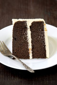 kumquat: {One Year Celebration} Chocolate Cake with Kumquat Marmalade Frosting
