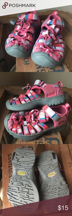 Clothing, Shoes & Accessories Sensible Keen Sport Sandals Waterproof Adjustable Strap Kids Size 10 Eur 28 Attractive Appearance