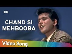 Chand Si Mehbooba | Himalay Ki God Mein (1965) | Manoj Kumar | Mala Sinha | Evergreen Mukesh Song - YouTube