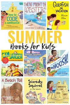 Here are some of my favorite children's books about summer. You'll find books about the beach, family vacations, ourdoor adventures, and more!