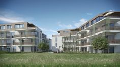 CARISMA Immobilien Wohnprojekt Kravogl Multi Story Building, Mansions, House Styles, Home Decor, Real Estates, Projects, Homes, Decoration Home, Manor Houses