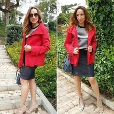 El look navy con chaqueta roja queda mejor...#felizmiercoles #navy #red ##instamoment #instapic #instafashion #instadaily #instablogger #bloggermalaga #bloggerstyle #streetstyle #style #moda #model #instamoment #instaphoto #instalike #ootd #outfit #outfitoftheday #lookoftheday